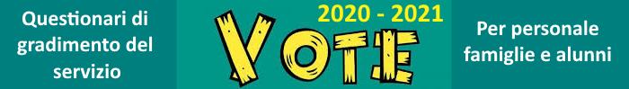 Sondaggi di gradimento anno scolastico 2020-2021